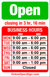 Business hours for Chase Bank