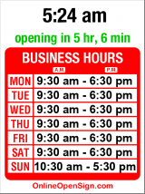 Business hours for Communique