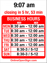 Business hours for 5 Spot