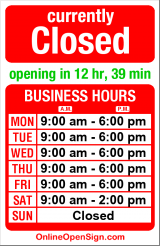 Business hours for Wells Fargo Bank