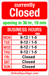 Business hours for Corey M Arntz DDS