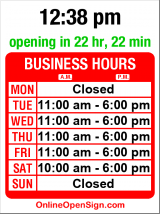 Business hours for Danaca Design