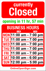 Business hours for Hawthorne Stereo