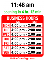 Business hours for Summit Public House