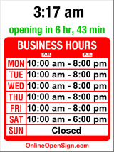 Business hours for Oohla's in Fremont
