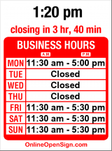 Business hours for Deluxe Junk