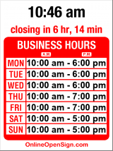 Business hours for BikeSport