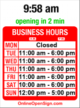 Business hours for Ballard Home Comforts