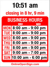 Business hours for OfficeMax Ballard