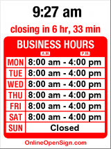 Business hours for Ballard Carrier Annex