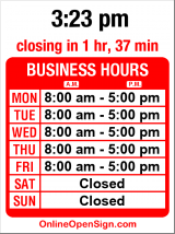 Business hours for Apex Automotive