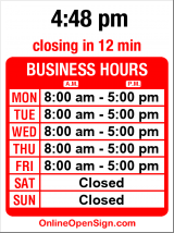 Business hours for Computer Power & Service