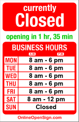 Business hours for Eastlake Veterinary Hospital