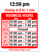 Business hours for Lyn Hair Salon