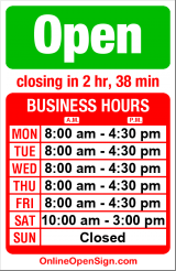 Business hours for Macpherson Leather Co