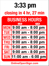 Business hours for Goodwill Thrift Store