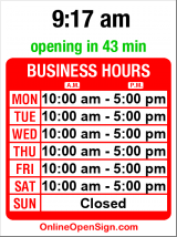 Business hours for Seattle Audubon Society