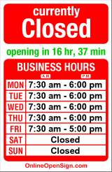 Business hours for Jewish Community Center