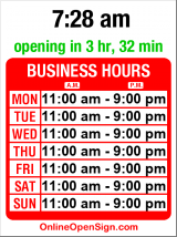 Business hours for Continental Spice & Grocery