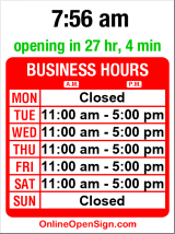 Business hours for Johnson & Johnson Antiques