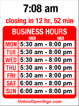 Business hours for Starbucks Phinney Ridge