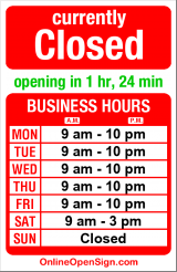 Business hours for Phinney Neighborhood Center