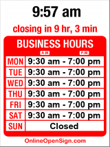 Business hours for Pola Bella