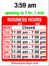 Business hours for City Cellars Fine Wine