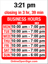 Business hours for Wide World Books & Maps