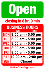 Business hours for Care Medical Equip