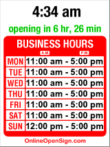 Business hours for Galway Traders