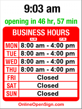 Business hours for Ballard Barber Shop