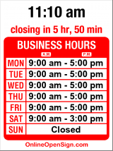 Business hours for Brewer Lawnmower Service