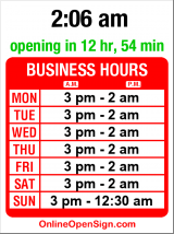 Business hours for Reading Gaol