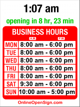 Business hours for Martha E. Harris