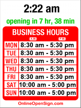 Business hours for Windermere Real Estate
