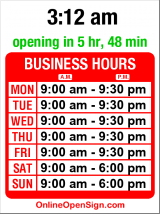 Business hours for Rhino Linings