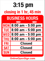 Business hours for Patrice M Yoder DDS