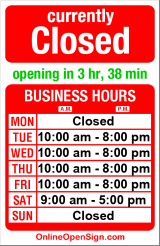 Business hours for Ola Salon & Spa