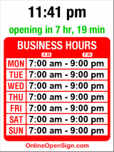 Business hours for Chambered Nautilus B & B