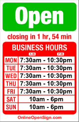 Business hours for Professional Copy n Print