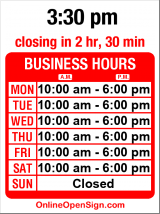 Business hours for Key Arena Box Office
