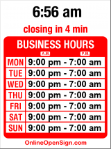 Business hours for Adult Entertainment Ctr