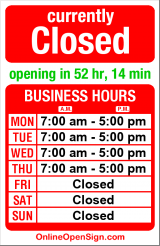 Business hours for Roosevelt Dental Center