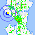 Click for map showing location of Bella Cleaners in Seattle (opens in new window)