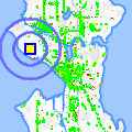 Click for map showing location of Magnolia Village Florist in Seattle (opens in new window)