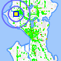 Click for map showing location of Imagine Color Services in Seattle (opens in new window)