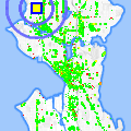 Click for map showing location of Michael R. Harris DDS in Seattle (opens in new window)