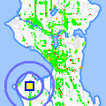Click for map showing location of Island View Snr Housing in Seattle (opens in new window)