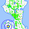 Click for map showing location of Wild Rose's Antiques in Seattle (opens in new window)